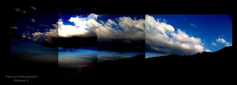 ابر ها، عکس از پرهام خوشبخت - Akasee.ir